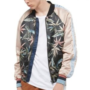 Eleven Paris JACKY All Over Graphic Bomber Jacket